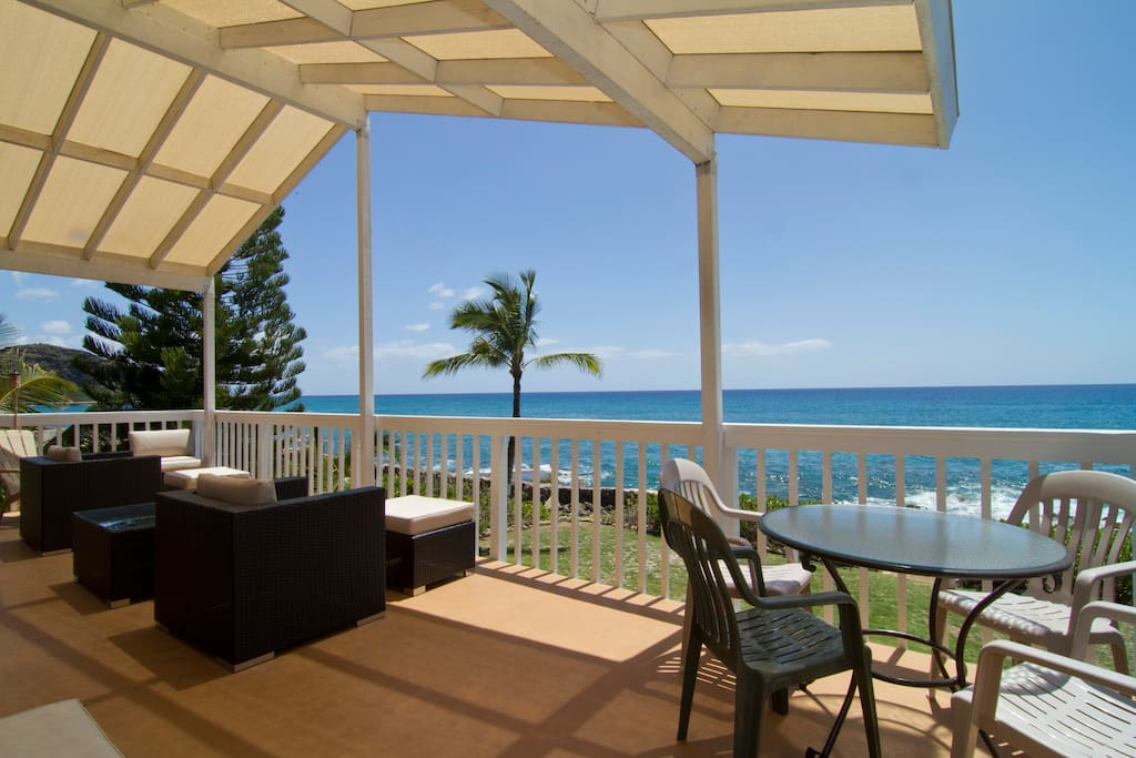 panoramic oceanfront view