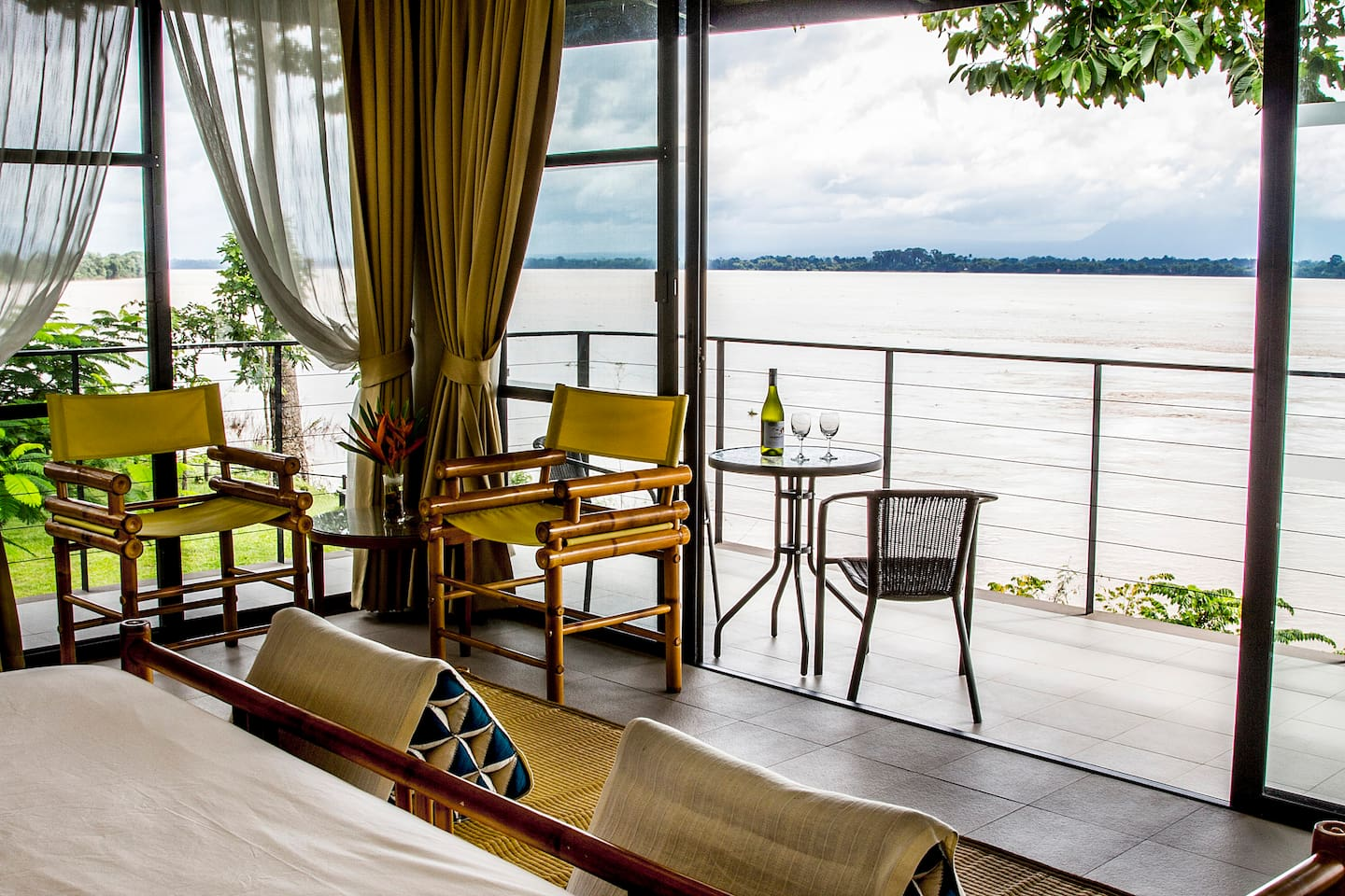 180 degree of Mekong River view