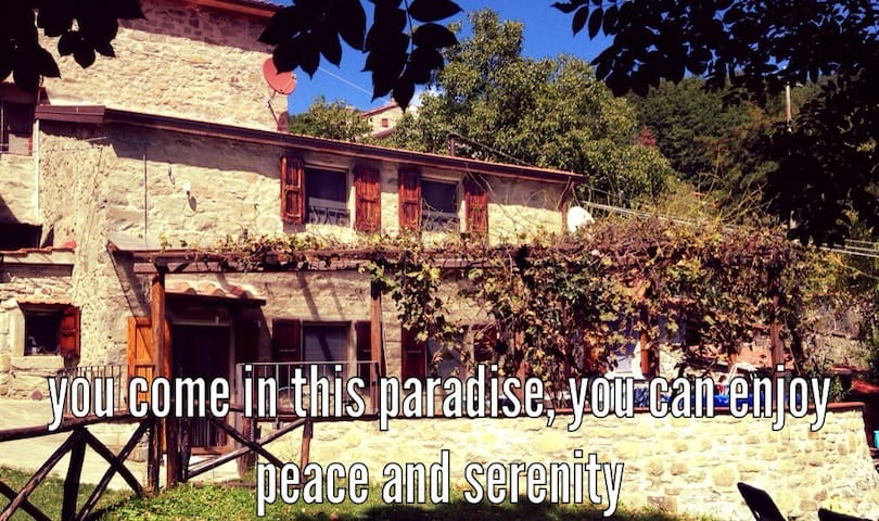 The house in the paradise of Serra. - Serra, Chiusi della Verna