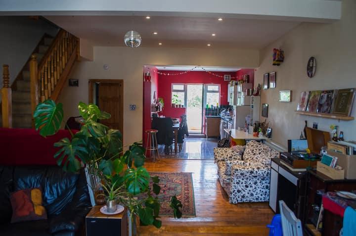 Double Room in Huge, Well-Linked Flat. SE London