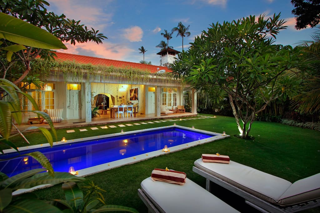 6 bedrooms pool villa in the heart of seminyak villas for 6 bedroom villa bali