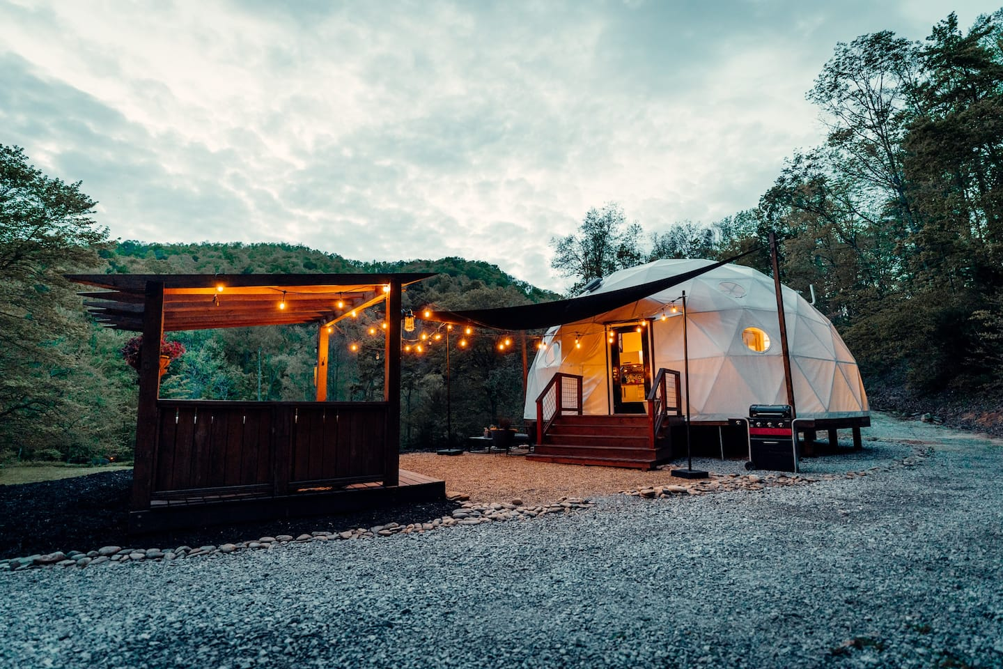 Check out this dreamy comfort Airbnb near Asheville