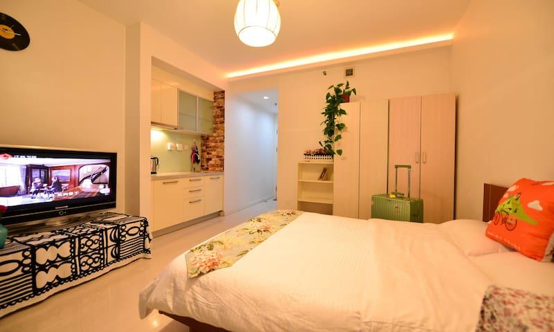 地铁站附近  iMoma公寓温馨一居室整租,独立卫生间,可做饭 - Beijing - Lägenhet