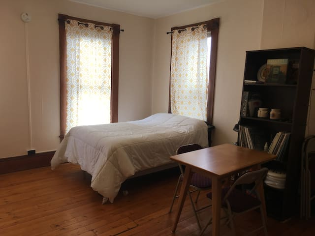 Bright, cozy, studio near downtown Montpelier.