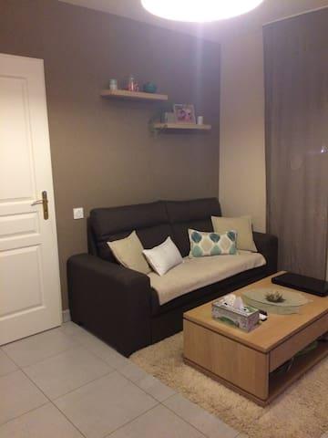 Petit appartement avec jardin proche Dijon - Chevigny-Saint-Sauveur - Appartement