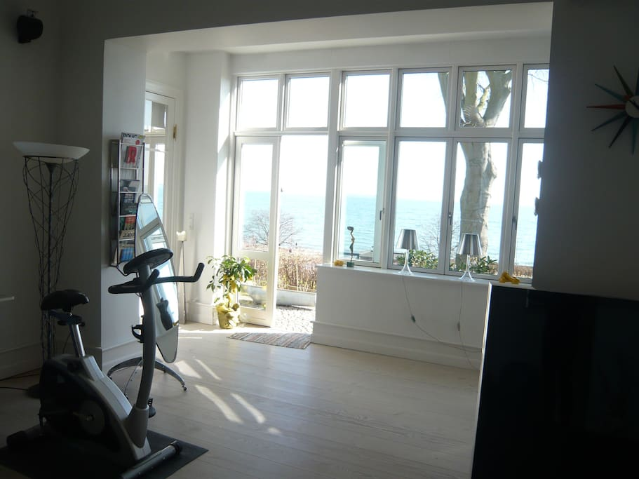Living room - door to garden