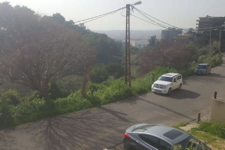 Charming 2 bedroom ground flr appt baabda Brasilia