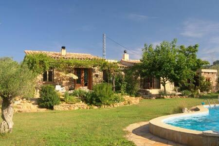 Finca rural con piscina - Sant Mateu - Bungalo