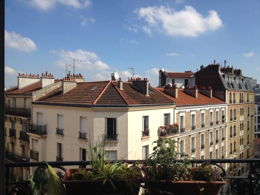 le balcon du séjour