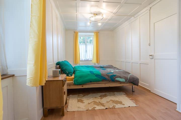 Wohnung im Bauernhaus mit Garten - Trasadingen - Casa