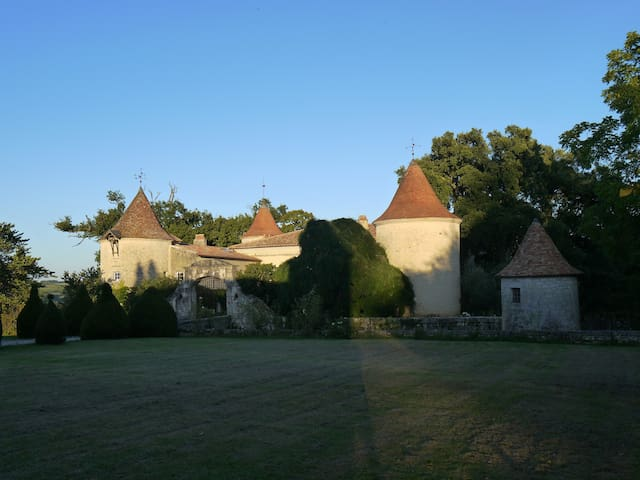 Flat in a castel (Bordeaux area)