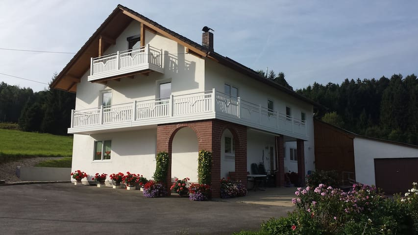 Idyllic holiday in Bavaria - Zachenberg - Apartmen