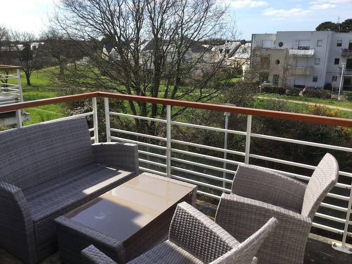 Appartement à Saint Marc proche Mer de 64m2