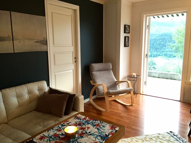 Cosy flat in lovely neighborhood with outdoorspace - Bergen