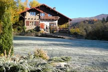 November morning  frosts
