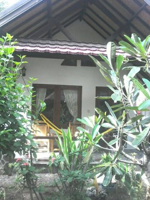 this is the bungalow with AC