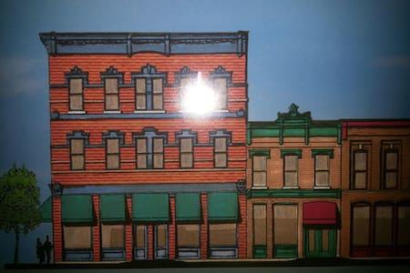 Toledo Warehouse District Loft