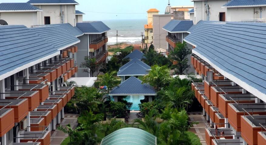 Cozy and Quite Studio Apartment on the Beach - Puri