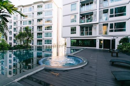 Sukhumvit BTS/NewCozy 1BR/Punawithi - Bangkok - Apartmen