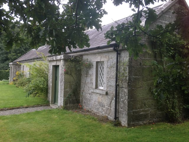 Mid 19th century Farm Cottage - Rathvilly - Cabaña