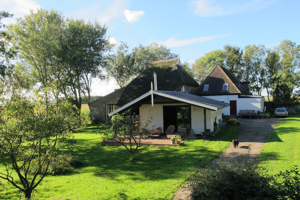 Groepslocatie groot baarda huizen te huur in holwerd for Huizen te koop friesland