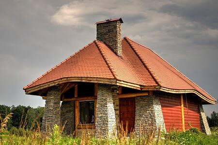 Domek Letniskowy całoroczny w Rzemieniu