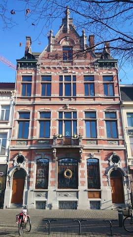 terrace studio in old Post office Park Spoor Noord