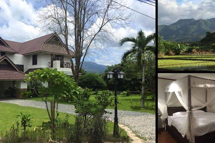 Large Villa, Mountain Views, Nature, Local Culture