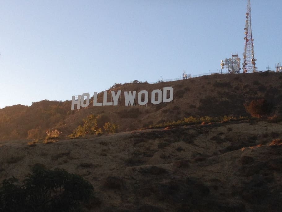 We're not far from this! Walk to Griffith Park and Hollywood SIgn.