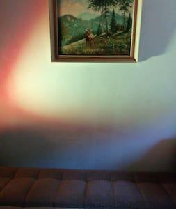 Ruhiges Zimmer an Waldrandidylle  - Huis