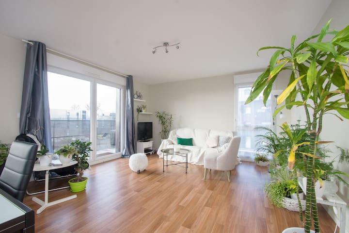 App calme & spacieux 3km de Rennes - Vezin-le-Coquet - Flat