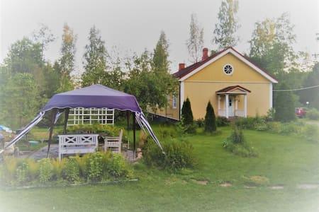 Half of  beautiful log house in Tausta, Lohja