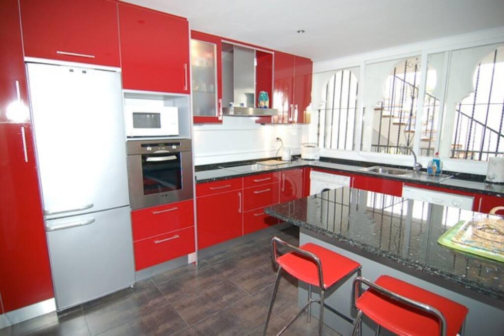 Recently refurbished kitchen