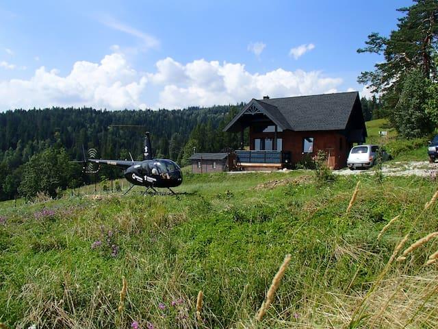 Górska Ostoja - Mountain Chalet in Gorce /Zakopane
