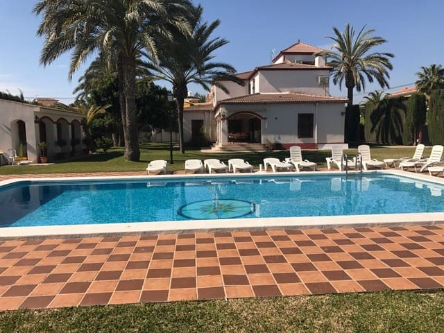 Villa, garden, pool, near beach, families & groups - Sant Joan d'Alacant - Dom