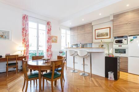 Grand studio de 50 m², clair, calme - Paris