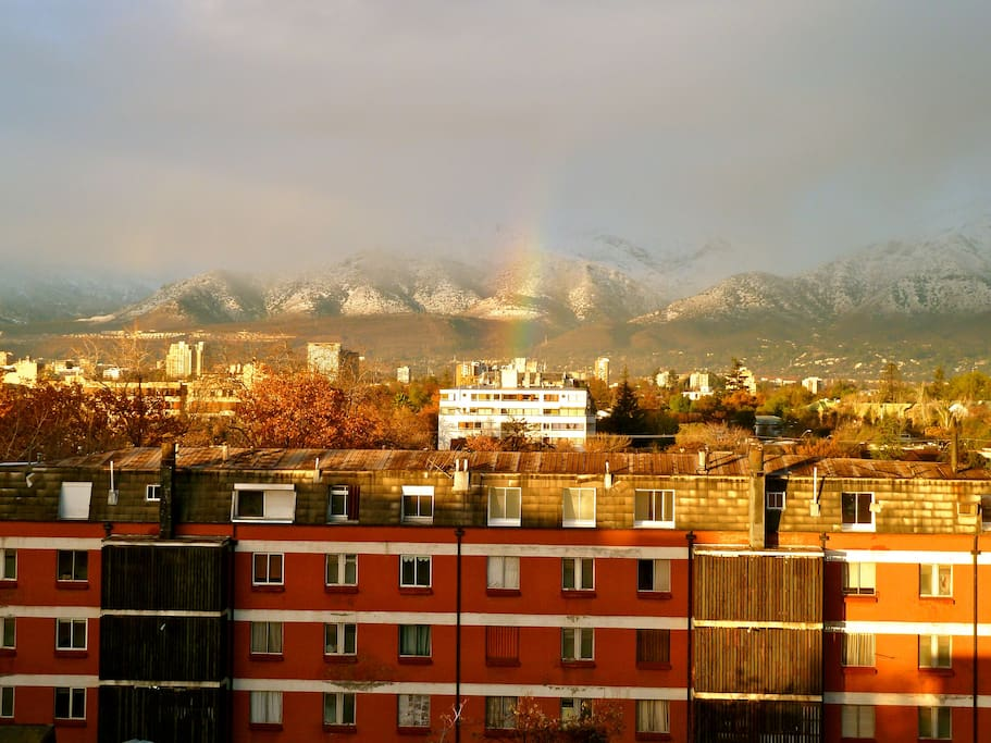 and yo can see rainbows when it rains ;)