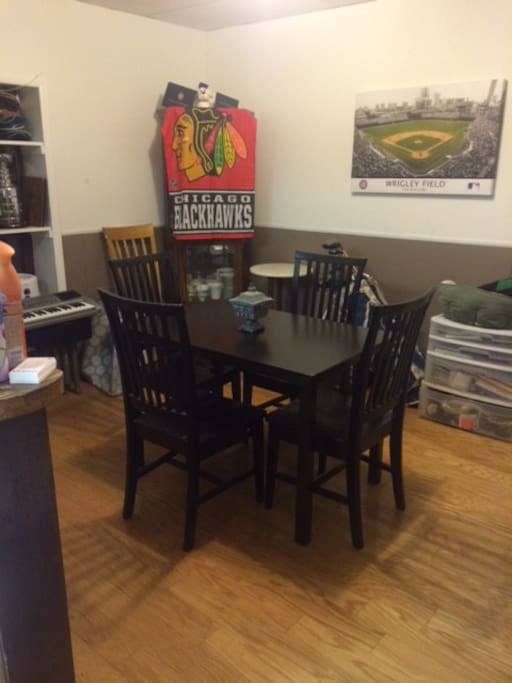 Dining Area/Work Space