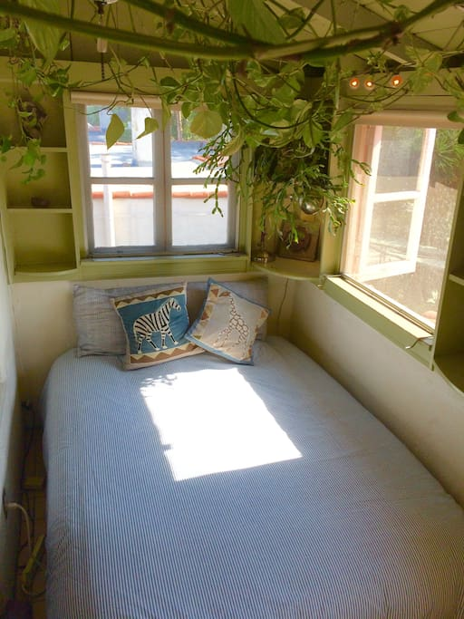 Tempurpedic foam covered mattress is the best nights sleep.