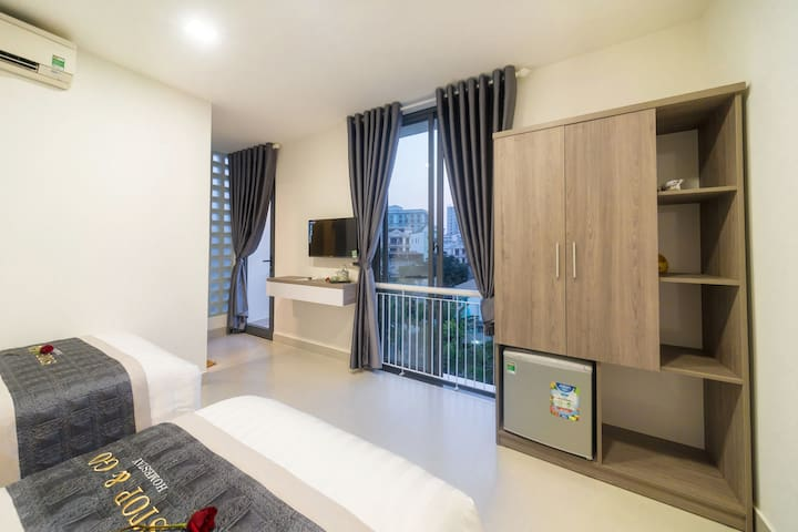 Stop&Go homestay- Cool Superior Double or Twin