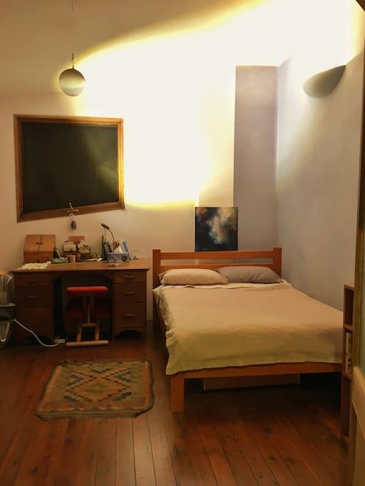 The bedroom you'll sleep in