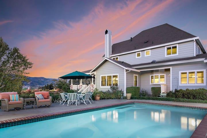 Luxury Vineyard Estate- stunning view| SPA+POOL