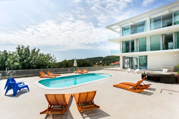 Luxury five star villa in Dubrovnik - Zaton - Villa