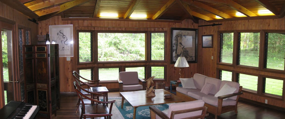 Living room for the guests use.