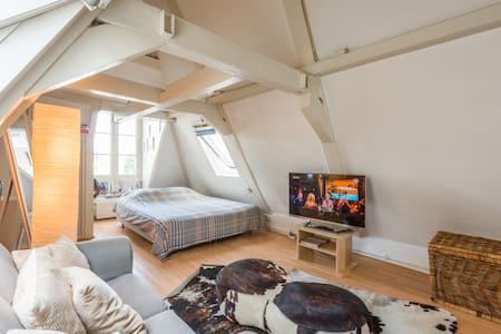 Center/Canal Loft; terrace 2 people - Amsterdam - Apartment