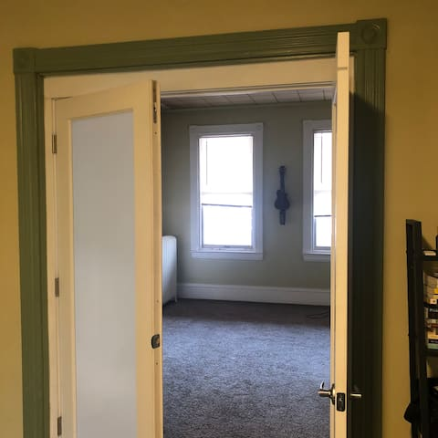 First floor apartment.