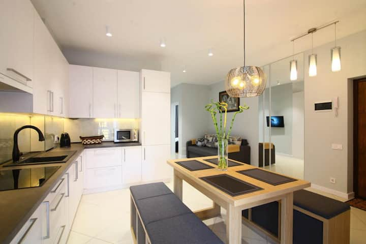 Luxury 2 separate bedrooms AC apartment in Lviv