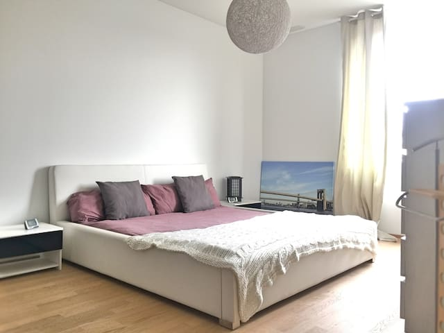 Apparement cosy and good situation - Nidau - Apartemen