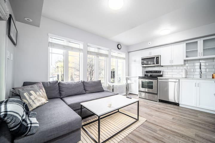 Bright and Cozy 1 BR Townhouse in Liberty Village!
