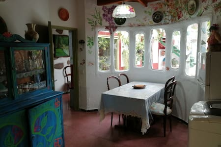 Casa rústica permacultura